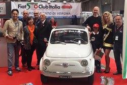 Verona Legend Cars - Successo per il Fiat 500 Club Italia
