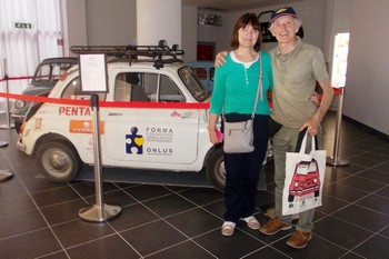 Visite al Museo dal Fiat 500 Club Irlandese