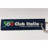 Portachiavi in Tessuto, 500 Club Italia e Museo della 500