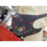 Mascherina ufficiale 500 Club Italia - GRIGIO