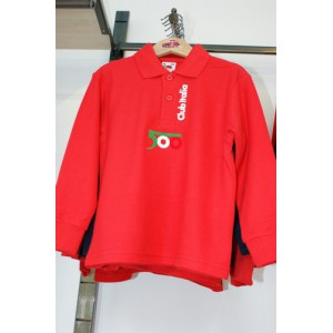 Polo Shirts Red Bimbo