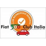 Rinnovo iscrizione Fiat 500 Club Italia anno 2020 SOCI STRANIERI
