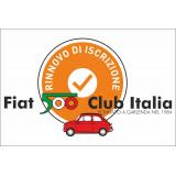 Rinnovo iscrizione Fiat 500 Club Italia anno 2020