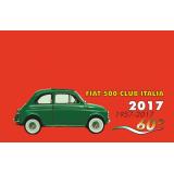 Nuova iscrizione Fiat 500 Club Italia anno 2017
