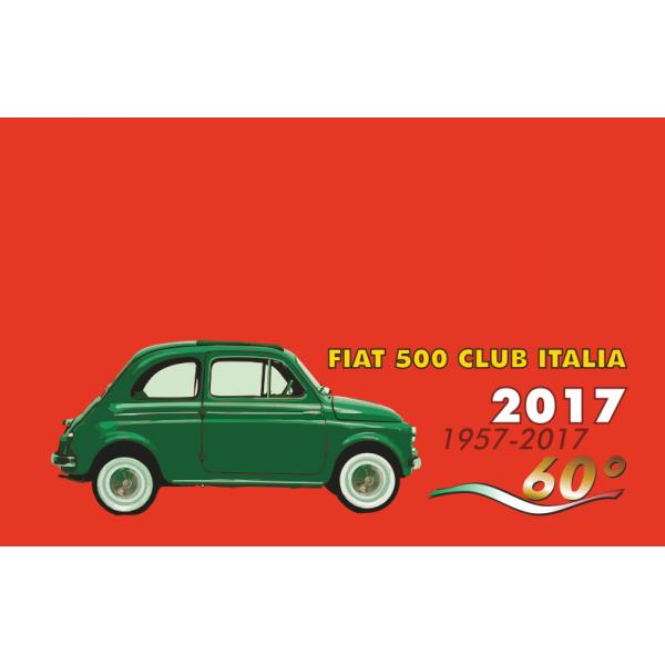 nuova iscrizione fiat 500 club italia anni 2017 2018. Black Bedroom Furniture Sets. Home Design Ideas
