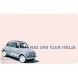 Rinnovo iscrizione Fiat 500 Club Italia anno 2019 SOCI STRANIERI