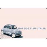 Nuova iscrizione Fiat 500 Club Italia anno 2019