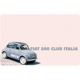 Nuova iscrizione Fiat 500 Club Italia anno 2019 SOCI STRANIERI - OFFERTA!